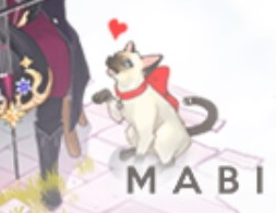 マビノギミュージックQゲームスタート画面の猫