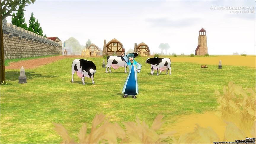ダンバートンの牛たち